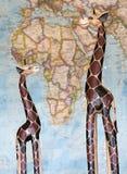 afrykańskiej zwierząt architektury kultury egipski hieroglyphics wizerunku wektor Obraz Royalty Free