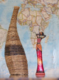 afrykańskiej zwierząt architektury kultury egipski hieroglyphics wizerunku wektor Zdjęcie Royalty Free