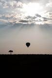 Afryka balon Obrazy Royalty Free