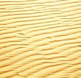 Afryka brown piasek diuna w Sahara Morocco pustyni linii Obrazy Royalty Free