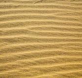 Afryka brown piasek diuna w Sahara Morocco pustyni linii Zdjęcie Stock