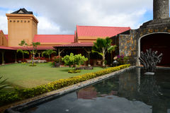 Afryka, Chamarel destylarnia w Mauritius wyspie Zdjęcia Royalty Free
