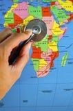 Afryka checkup Zdjęcie Stock