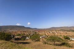 Afryka dolina Stwarza ognisko domowe krajobraz Obraz Royalty Free