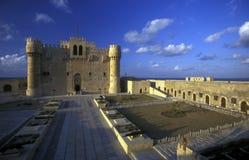AFRYKA EGIPT ALEKSANDRIA miasta fort QAITBEY Obraz Royalty Free