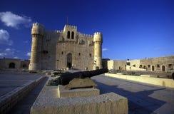 AFRYKA EGIPT ALEKSANDRIA miasta fort QAITBEY Zdjęcia Stock