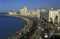 AFRYKA EGIPT ALEKSANDRIA miasto Obraz Royalty Free