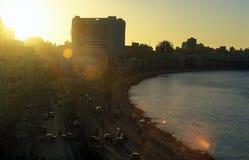 AFRYKA EGIPT ALEKSANDRIA miasto Zdjęcie Royalty Free