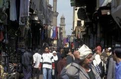 AFRYKA EGIPT ALEKSANDRIA miasto Zdjęcia Stock
