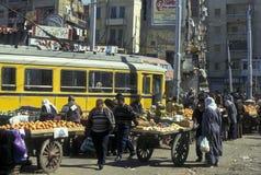 AFRYKA EGIPT ALEKSANDRIA miasto Obrazy Royalty Free