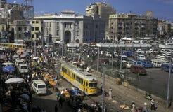 AFRYKA EGIPT ALEKSANDRIA miasto Obrazy Stock