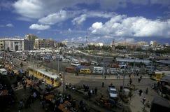 AFRYKA EGIPT ALEKSANDRIA miasto Zdjęcie Stock