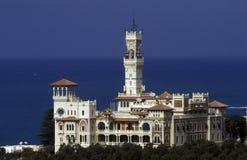 AFRYKA EGIPT ALEKSANDRIA MONTAZAH pałac Zdjęcie Stock
