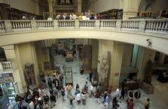 AFRYKA EGIPT KAIR egipcjanina muzeum Obrazy Stock