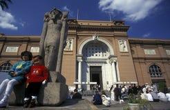 AFRYKA EGIPT KAIR egipcjanina muzeum Fotografia Royalty Free