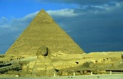 AFRYKA EGIPT KAIR GIZA ostrosłupy obrazy royalty free
