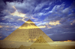 AFRYKA EGIPT KAIR GIZA ostrosłupy Fotografia Royalty Free