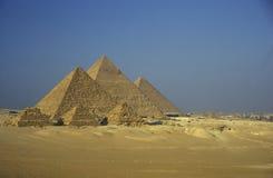 AFRYKA EGIPT KAIR GIZA ostrosłupy Fotografia Stock