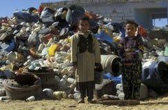 AFRYKA EGIPT KAIR miasta PLASTIKOWY PRZETWARZAĆ Zdjęcie Stock