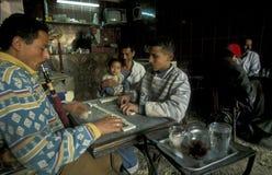 AFRYKA EGIPT KAIR miasteczka STAREGO rynku HERBACIANY dom Zdjęcie Stock