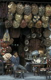 AFRYKA EGIPT KAIR miasteczka STARY rynek Zdjęcia Stock