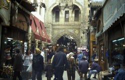 AFRYKA EGIPT KAIR miasteczka STARY rynek Obrazy Royalty Free