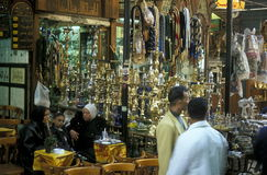 AFRYKA EGIPT KAIR miasteczka STARY rynek Fotografia Stock