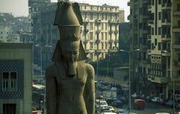 AFRYKA EGIPT KAIR miasto RAMSES Fotografia Royalty Free