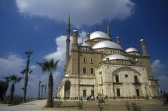 AFRYKA EGIPT KAIR MOHAMMED ALI STARY GRODZKI meczet Obraz Royalty Free