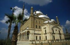 AFRYKA EGIPT KAIR MOHAMMED ALI STARY GRODZKI meczet Obraz Stock