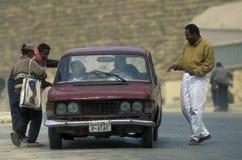 AFRYKA EGIPT KAIR ruchu drogowego droga Obrazy Royalty Free