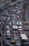 AFRYKA EGIPT KAIR ruchu drogowego droga Obrazy Stock