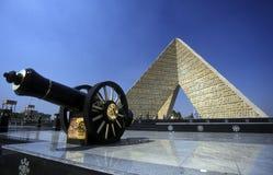 AFRYKA EGIPT KAIR SADAT zabytek Fotografia Royalty Free