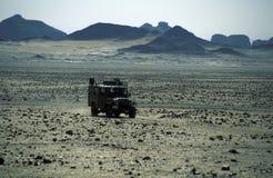 AFRYKA EGIPT SAHARA FARAFRA bielu pustynia Obraz Royalty Free