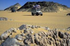 AFRYKA EGIPT SAHARA FARAFRA bielu pustynia Zdjęcie Stock