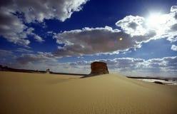 AFRYKA EGIPT SAHARA FARAFRA bielu pustynia Zdjęcia Stock