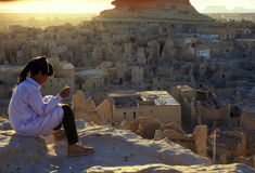 AFRYKA EGIPT SAHARA SIWA Zdjęcia Royalty Free