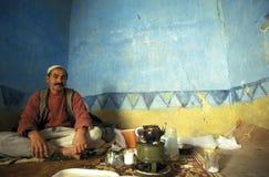 AFRYKA EGIPT SAHARA SIWA oaza Zdjęcie Stock
