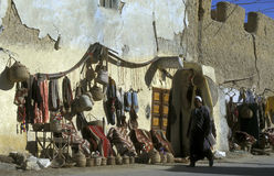 AFRYKA EGIPT SAHARA SIWA oaza Obrazy Stock