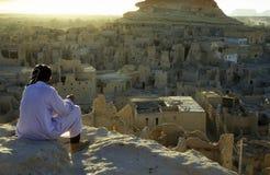 AFRYKA EGIPT SAHARA SIWA oaza Obrazy Royalty Free