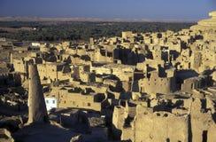 AFRYKA EGIPT SAHARA SIWA oaza Obraz Royalty Free