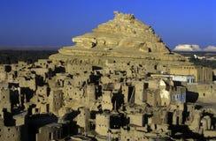AFRYKA EGIPT SAHARA SIWA oaza Fotografia Stock