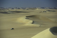 AFRYKA EGIPT SAHARA SIWA pustynia Fotografia Royalty Free