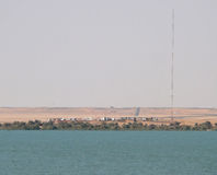 Afryka, Egipt. Stan granica między Egipt i Sudan, Fotografia Royalty Free