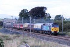 Afryka Ekspresowy - na wycieczce turysycznej specjalny pociąg Zdjęcie Stock
