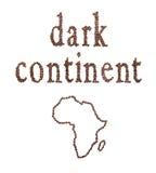 Afryka i kawa Zdjęcia Stock