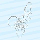 Afryka ilustracja Fotografia Royalty Free