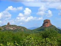 Afryka, Kenja. Góry. Krajobrazowa natura. Zdjęcie Royalty Free