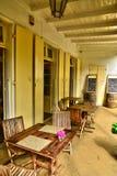 Afryka, kolonisty Eureka dom w moka Zdjęcie Royalty Free