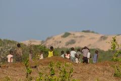 Afryka małe dzieci Zdjęcia Stock